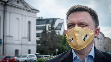 Szymon Hołownia z wizytą w Poznaniu.