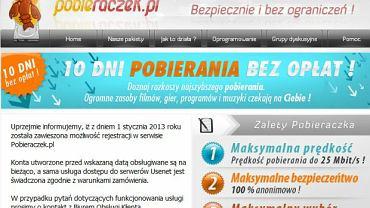 Strona internetowa pobieraczek.pl