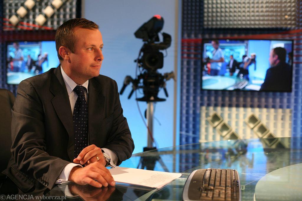 Wybory samorządowe w Warszawie. Żona Adriana Klarenbacha, dziennikarza TVP Info, startuje w wyborach z listy PiS