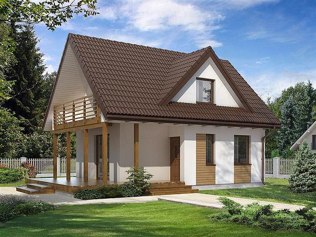 Projekt domu Poziomka 3 dr-T