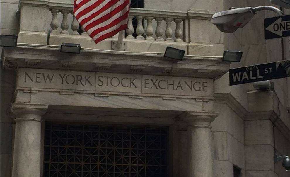 Nowojorska giełda papierów wartościowych. Siedziba przy Wall Street.