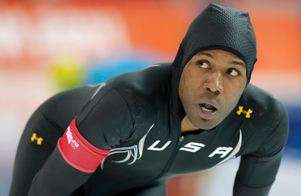Shani Davis był faworytem w wyścigu na 1000 metrów. Tymczasem w Soczi zajął ósme miejsce