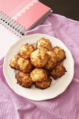 Kokosanki bez cukru (z ksylitolem) - dietetyczne, bezglutenowe