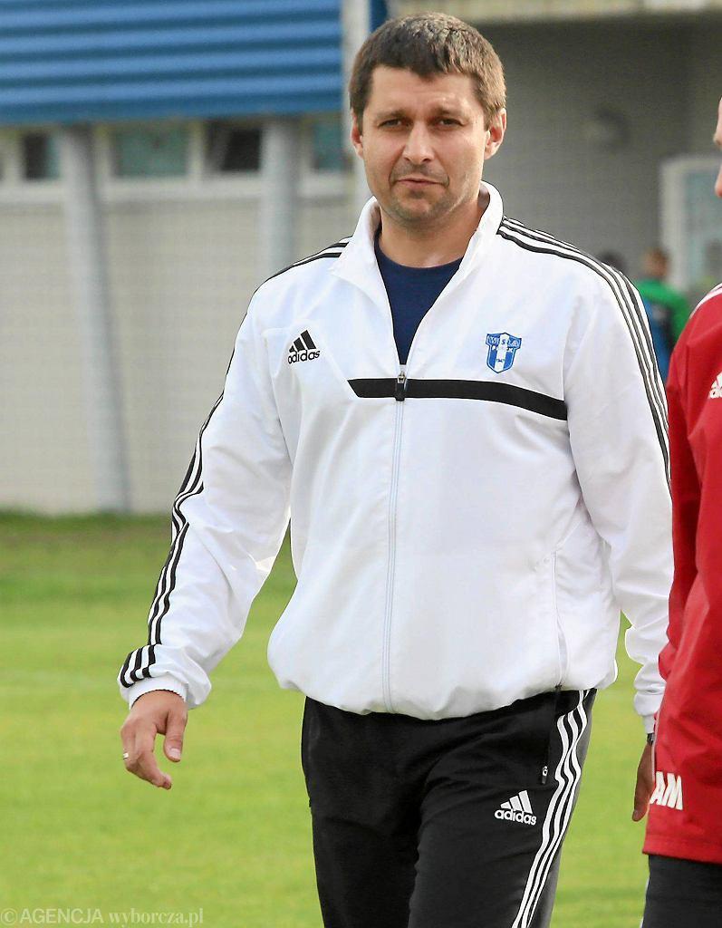Marcin Kaczmarek, trener Wisły Płock.