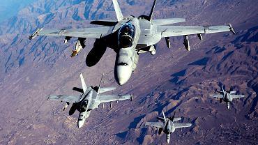 Myśliwiec F/A-18 Super Hornet