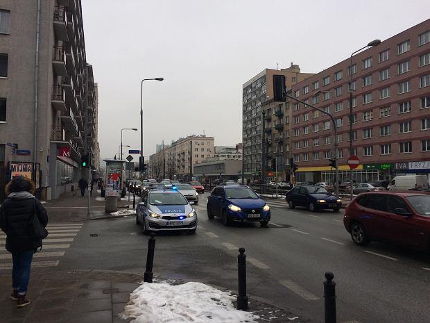 Zablokowany wjazd od ulicy Puławskiej