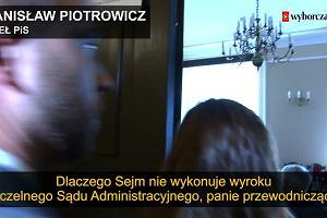 Popis arogancji posła Piotrowicza. Tak potraktował dziennikarzy, którzy pytają o aferę Ziobry