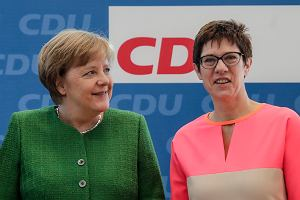 Koniec ery Angeli Merkel. Jest nowa szefowa partii CDU. To Annegret Kramp-Karrenbauer