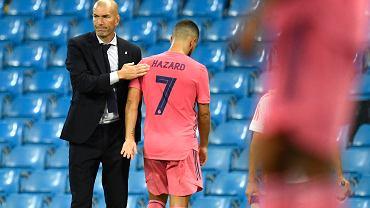 Liga Mistrzów. Niepocieszony Zinedine Zidane i schodzący z boiska Eden Hazard