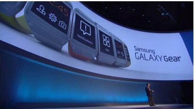 Prezentacja Samsung Galaxy Gear