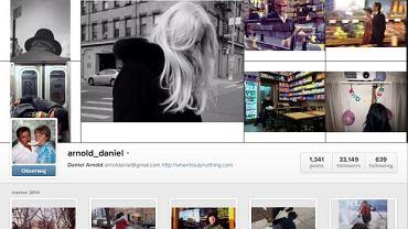Daniel Arnold na Instagramie