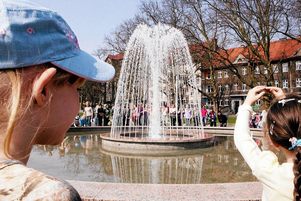 Fontanna na placu Grunwaldzkim