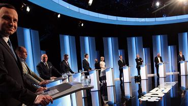 Andrzej Duda w debacie kandydatów zadeklarował, że referenda powinny być obowiązkowe