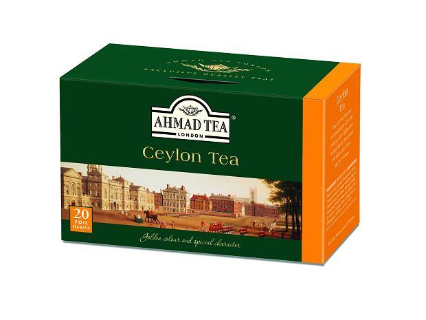 herbata Ceylon Tea Ahmad Tea London