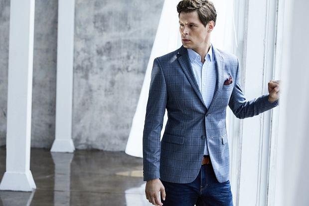 Mężczyzna dobrze ubrany