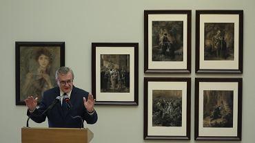 Piotr Gliński na konferencji ws. utraconych dzieł sztuki