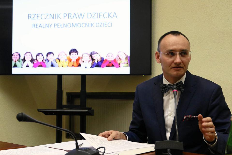 Rzecznik Praw Dziecka Mikołaj Pawlak