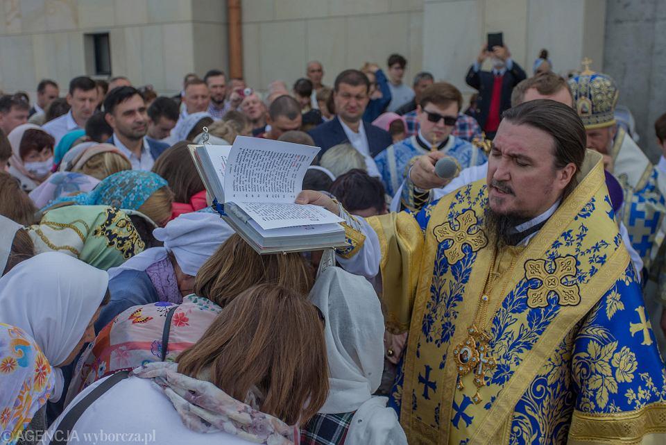 Zdjęcie numer 11 w galerii - Hagia Sophia w Warszawie niczym w Stambule. Pierwsza od zaborów nowa cerkiew w stolicy przyjęła wiernych