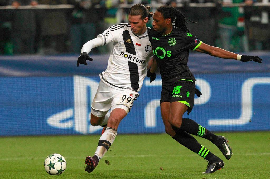 Liga Mistrzów. Legia - Sporting 1:0