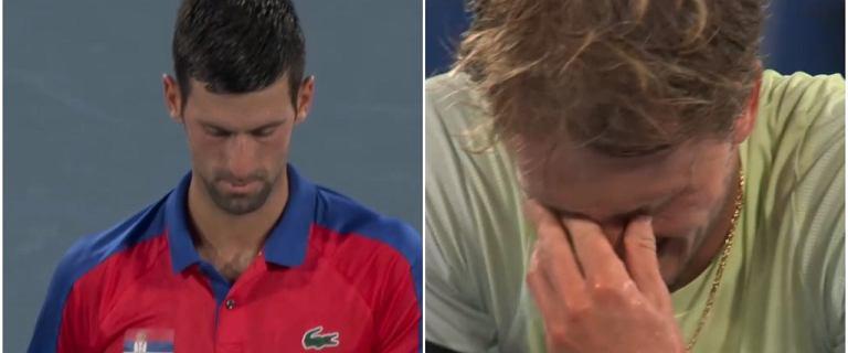 Katastrofa Novaka Djokovicia w półfinale igrzysk! Rozpadł się. Zwycięzca we łzach