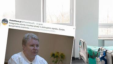Pielęgniarkę zwolniono po 40 latach pracy