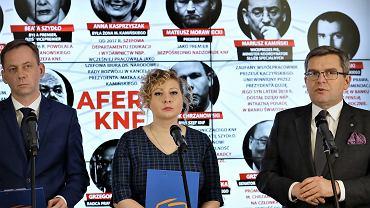 PO rusza z kampanią informacyjną o politykach PiS, aferze KNF i SKOK Wołomin.