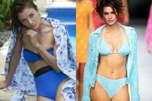 Helena Christensen, Cindy Crawford