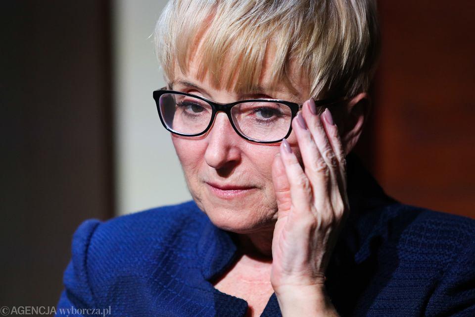Sędzia Beata Morawiec. Oskarżana przez prokuraturę o przyjęcie łapówki