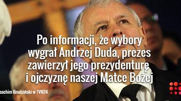 Joachim Brudziński o Jarosław Kaczyńskim