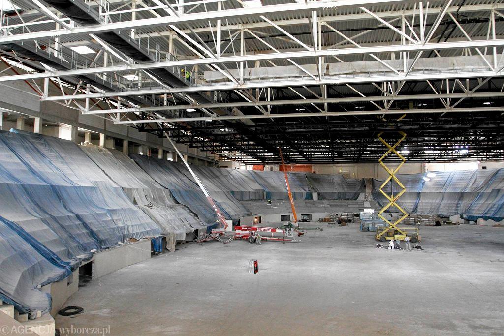 Budowa toruńskiej hali sportowej przy ul. Bema