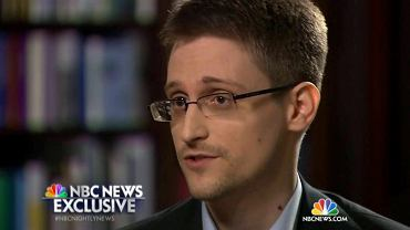 Edward Snowden w wywiadzie dla NBC