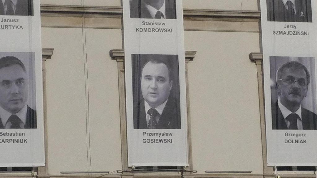 Błąd na plakacie Przemysława Gosiewskiego został już poprawiony