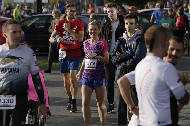 Zdjęcie numer 10 w galerii - Ponad 1200 biegaczy na starcie 37. Toruń Maraton, wygrał Łukasz Oskierko [ZDJĘCIA]