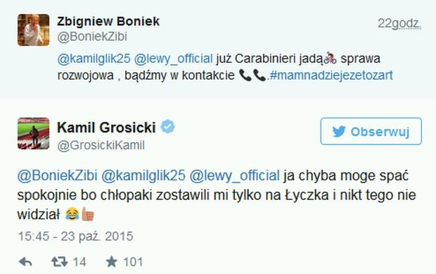 Kamil Grosicki o aferze z szampanem