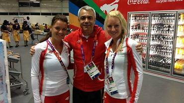 Andrea Anastasi i siostry Radwańskie