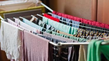 Suszenie prania w pomieszczeniu może szkodzić zdrowiu
