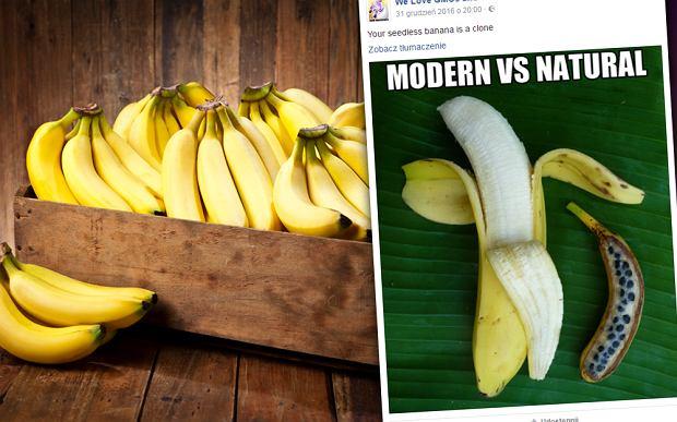 """Nowoczesny vs. naturalny. Czy tak wygląda """"prawdziwy"""" banan? [WYJAŚNIAMY]"""