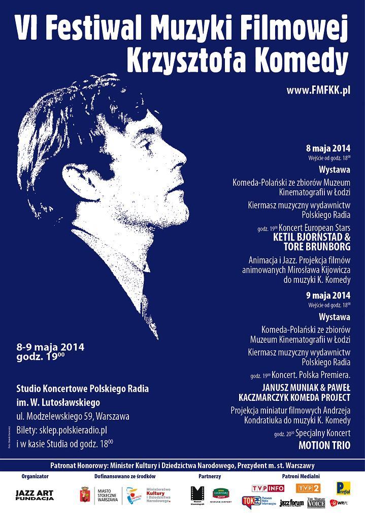 VI Festiwal Muzyki Filmowej Krzysztofa Komedy