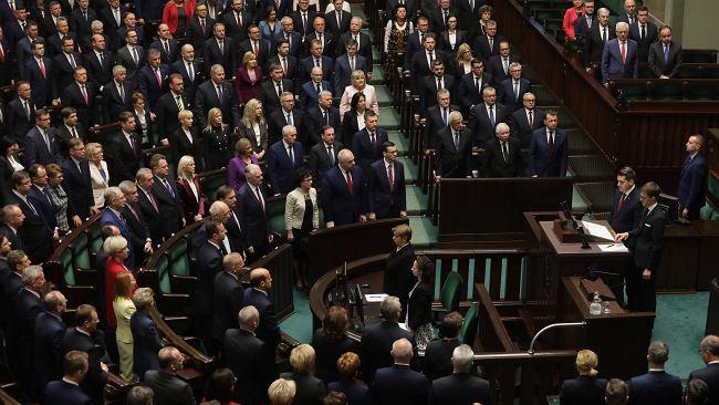 Sejm wybrał pięciu wicemarszałków, w tym dwóch z PiS. M.in. Terlecki, Kidawa-Błońska i Czarzasty