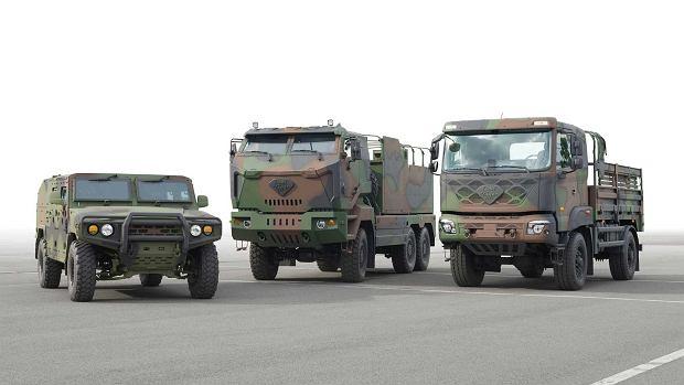Kia - pojazdy wojskowe