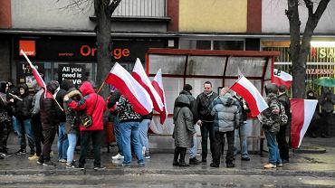 Marsz ONR w Hajnówce