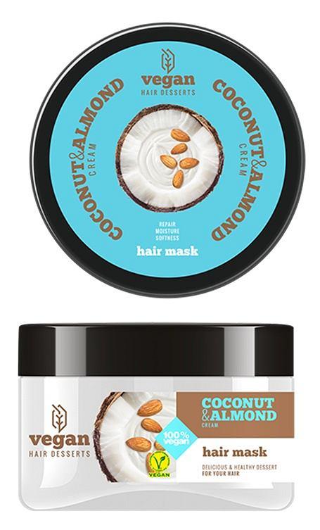 Vegan Desserts - Coconut & Almond Cream maska do włosów