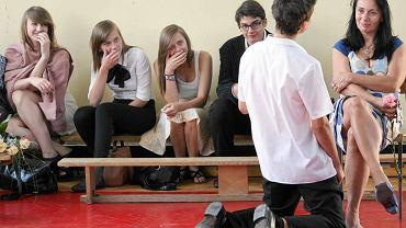 Koniec roku szkolnego w częstochowskim gimnazjum