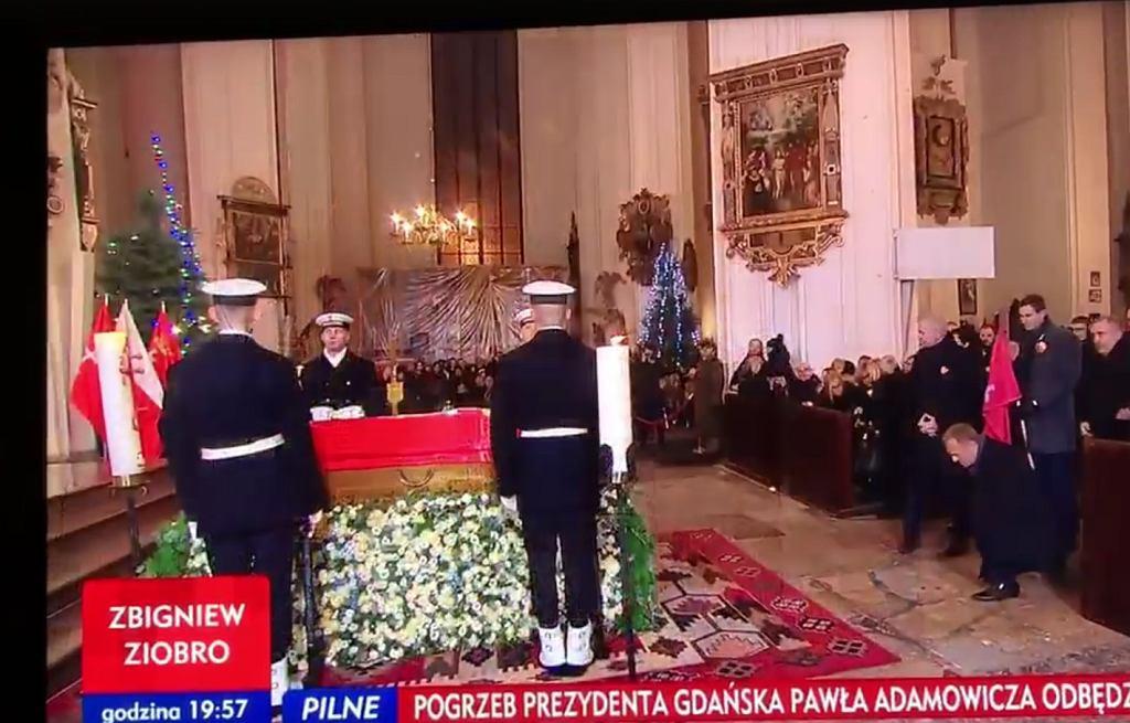 Msza żałobna w intencji prezydenta Gdańska Pawła Adamowicza