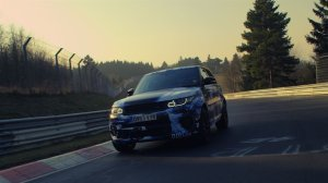 Range Rover Sport SVR | Najszybszy SUV na Nurburgringu