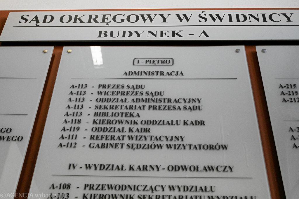 Sąd w Świdnicy