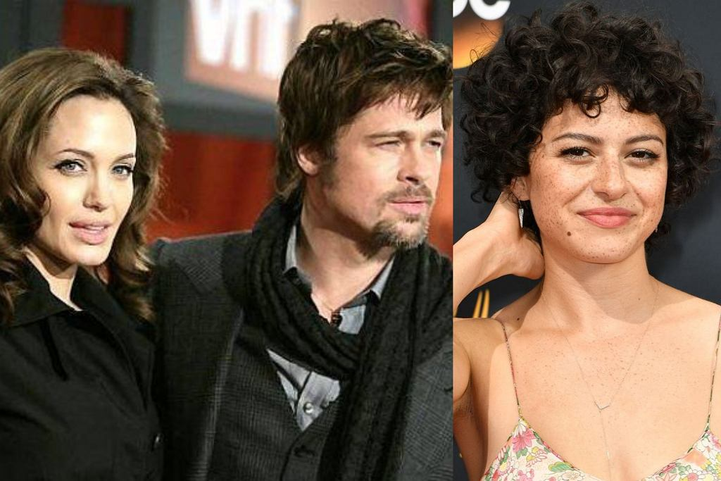 Angelina Jolie Brad Pitt Alia Shawkat