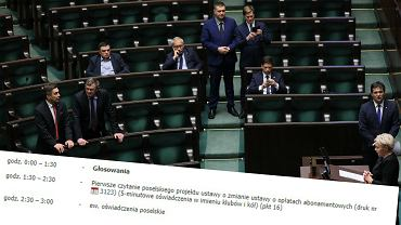 Sejm o abonamencie RTV