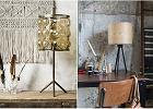 Lampy stołowe do salonu.