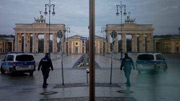 Niemcy walczą z wirusem koronowym.